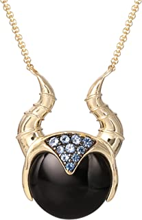 Villains Maleficent Yellow Gold Plated Sterling Silver...