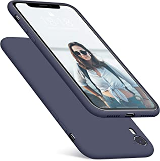 DTTO Case for iPhone XR, [Romance Series] Silicone Case with Hybrid Protection for Apple iPhone XR 6.1 Inch - Midnight Blue