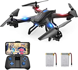 SNAPTAIN S5C WiFi FPV Drone with 720P HD Camera,Voice Control, Wide-Angle