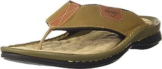 Lee Cooper Men's Leather Flip-Flops