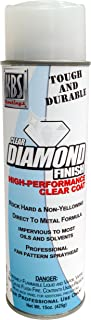 KBS Coatings 8124 Clear Satin 1 Pack Diamond Finish Aerosol