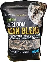 Epicurean Specialty Organic Heirloom Bean Blend, 5.5 lbs
