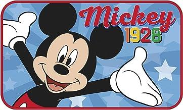 ARDITEX WD13020 Alfombra de Habitación súper Suave de 45x75cm de Disney-Mickey
