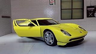 Motormax Usa 1:24 Lamborghini Miura Concept Diecast Model - 3 Years & Above, Yellow, Yellow For 3 Years & Above-73367R