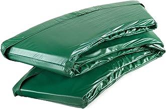 Ampel 24 - Cubierta Deluxe para Bordes de Cama elástica con Ø 180-185 cm y Red Interna/Doble Espesor de 35mm / protección para muelles Verde