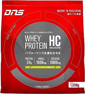 DNS ホエイプロテイン HC エナジードリンク風味 1000g (約30回分) 水で飲める プロテイン HMB クレアチン 配合 筋トレ レッド