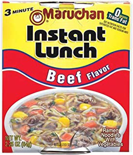 Maruchan BEEF FLAVOR Instant Lunch 2.25oz (24 pack)