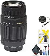 Sigma 70-300mm F/4-5.6 DG OS SLD Super Multi-Layer Coated Telephoto Lens for Pentax AF Mount for Pentax AF Mount + Accessories (International Model)
