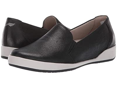 Dansko Odina (Black Textured Nubuck) Women