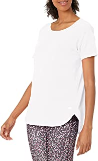 Amazon Essentials Women's Studio Relaxed-Fit Lightweight Crewneck T-Shirt