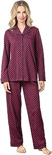 PajamaGram Pajama Set for Women - Cotton Jersey Pajamas Women