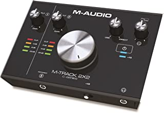 M Audio M Track 2X2 | 2 In / 2 Out 24/192 USB Audio Interface