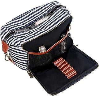 BAOSHA Tela Viaggio Toiletry Wash Bag Donne Trucco Cosmetici Organizzatore Portatile Palestra Rasatura Sacchetto per Gli U...
