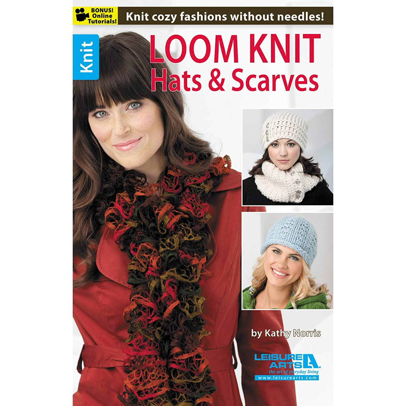 LEISURE ARTS Loom Knit Hats and Scarves Book