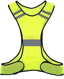 Chaleco de Seguridad de Alta Visibilidad (200m) con Bolsillos - Chaleco Reflectante, 2 Colores ( Color : Lime )
