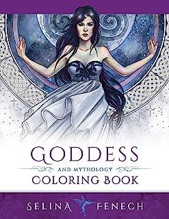 Goddess and Mythology Coloring Book (9)