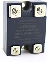 PCS34-D-480A-100Z | 100 Amp, 48-530 VAC Zero Crossing Output | UL Rated | 3-32 VDC Input | Hockey Puck Solid State Relay