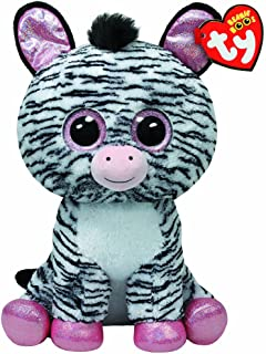 Ty Beanie Boos Izzy - Zebra Large (Justice Exclusive)