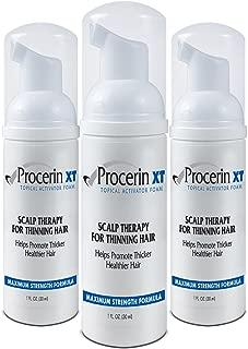 Procerin Hair Loss Foam (No Minoxidil) - Maximum Strength DHT Blocking Formula - Clinically Proven to Combat Baldness & Receding Hairline