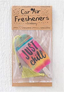 Natural Life 2 Pack Car Vehicle Rear View Mirror Hanging Air Freshener Many Styles! (Just Chill)