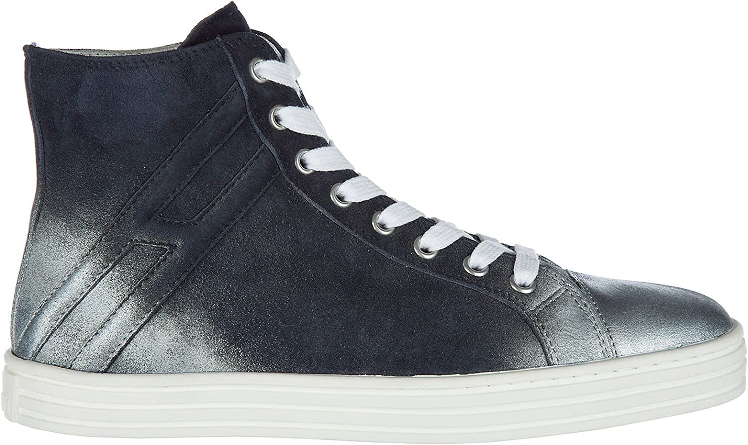 Hogan Rebel Women R141 high top Sneakers blue