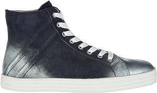 .Hogan Rebel Sneakers Alte r141 Donna Blu