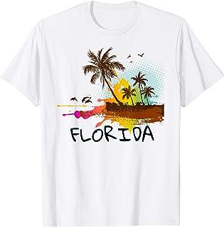 Florida Beach Vacation Tshirt - Art shirt for ocean lovers