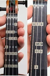 Fantastic Violin Finger Guides - Combo Pack: D Major Beginner Guide and All Notes Violin Finger Guide for 1/4 Size Violin ...
