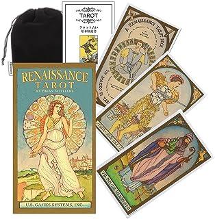 Kancharo タロットカード 78 枚 タロット占い【ルネッサンス タロット Renaissance Tarot Deck】日本語説明書&ポーチ付き(正規品)