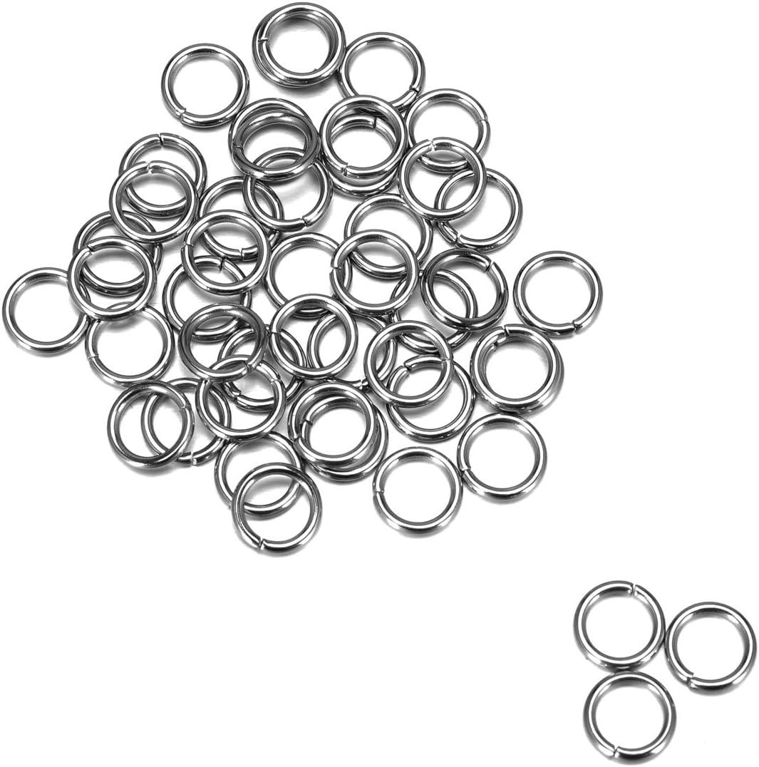 HOUSWEETY Stainless Steel Jewelry Finding Open 500pcs 1.2mm Cheap SALE Start Jump 5 ☆ popular