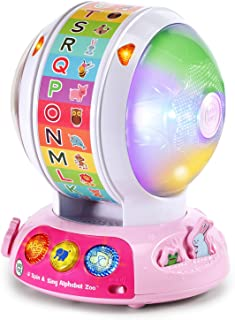 LeapFrog 80-601460 Spin & Sing Alphabet Zoo Amazon Exclusive, pink