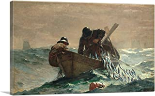 ARTCANVAS The Herring Net 1885 Canvas Art Print by Winslow Homer - 26