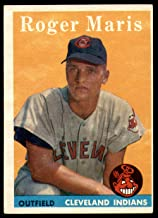 1958 Topps #47 Roger Maris Excellent+ RC Rookie Indians