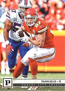 2018 Panini NFL Football #143 Travis Kelce Kansas City Chiefs Official Trading Card