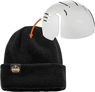 Rib Knit Hat with Bump Cap Insert, Ergodyne N-Ferno 6811ZI, Black