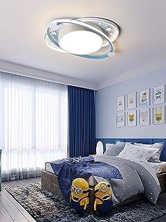Lámpara de techo LED Luz de techo Dormitorio de niñas Habitación infantil Lámpara infantil moderna Regulable con control remoto Love Heart Lámparas de techo acrílicas para comedor Guardería