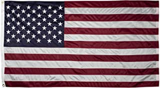 US Flag 3 x 5 ft: 100% American Made - Cotton - Embroidered Stars and Sewn Stripes …