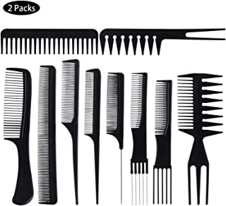 20 Piece Professional Styling Comb Set for Making hair style