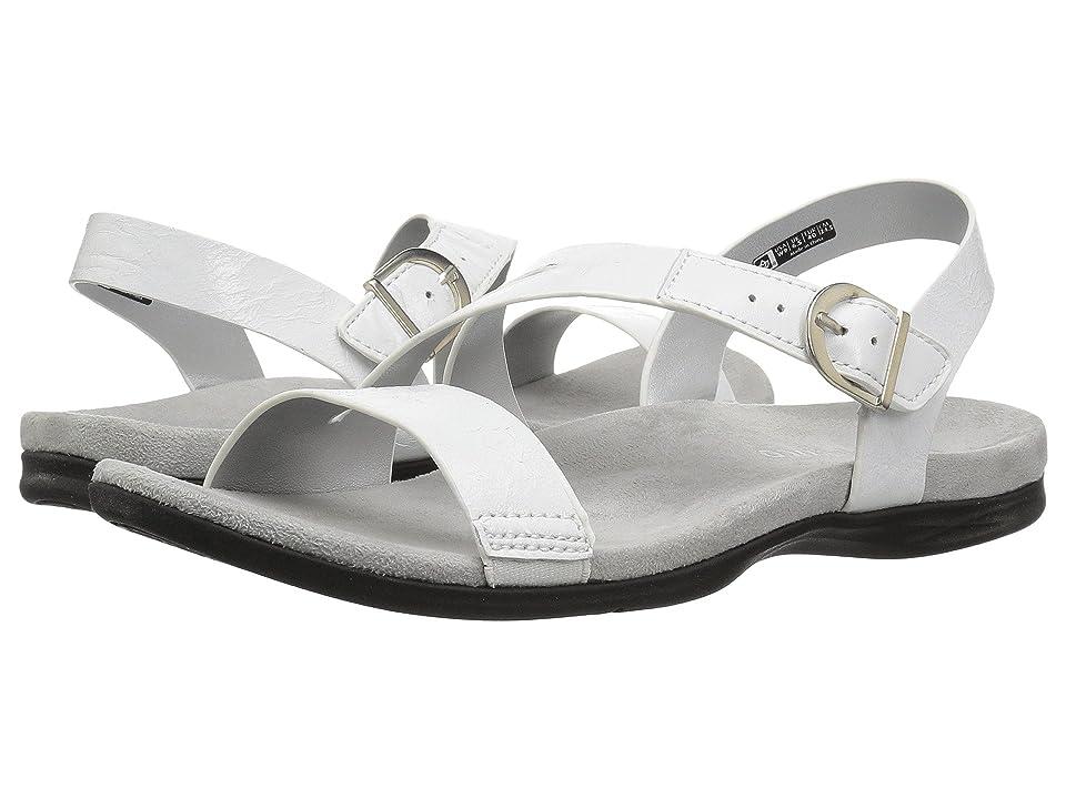 Spenco Roxbury Sandal (White Mist) Women