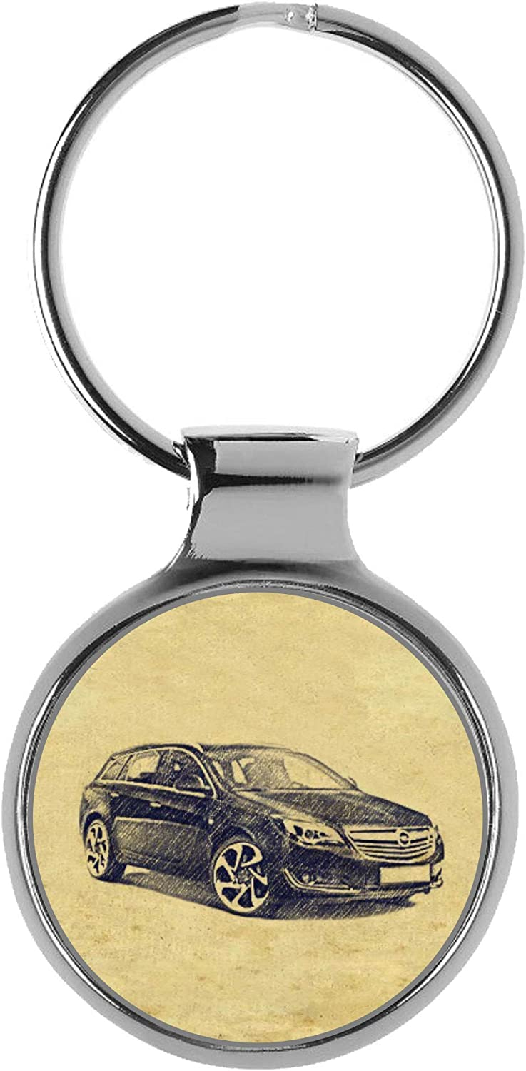 Lowest price challenge KIESENBERG Key Chain Ring Outlet sale feature Keyring Gift for Insignia Opel Sport A