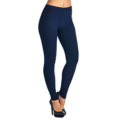 68e496dff3962 Leggings Mania Regular/Plus (XS-5XL) Solid Buttery Soft High Waist Always