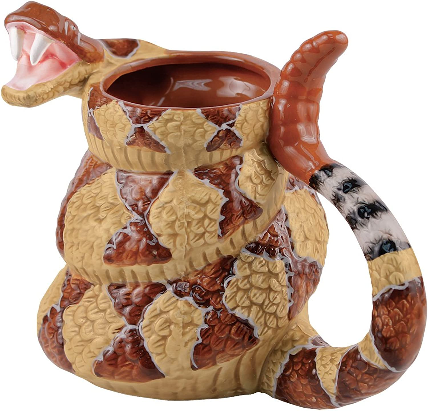 Rattlesnake Coffee Mug Cup - The Late Late Show with Craig Ferguson - 20oz. by AMERICAN LEGACY PRODUCTS
