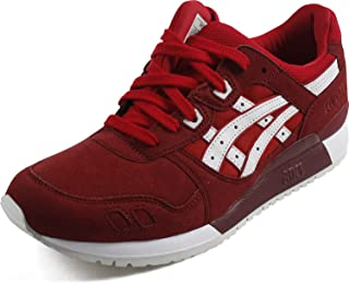 ASICS Tiger Womens HL7E5.0000 Gel Lyte Iii Red Size: 4.5