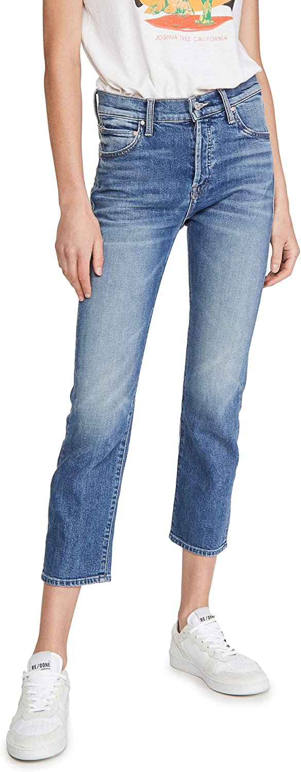 Mother Women S The Scrapper Ankle Jeans Cowboys Don T Cry Blue 33 At Amazon Women S Jeans Store
