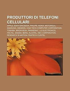 Produttori di telefoni cellulari: Apple, Sony Ericsson, Philips, Nokia, Motorola, Samsung, Siemens, High Tech Computer Corporation, Toshiba