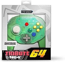 Retro-Bit Tribute 64 for Nintendo 64 - Forest Green