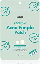 HARUTO BEAUTY Original Acne Pimple Patch -( 92 patches /1Pack), Tea tree, Hydrocolloid spot healing patch, Invisible blemi...