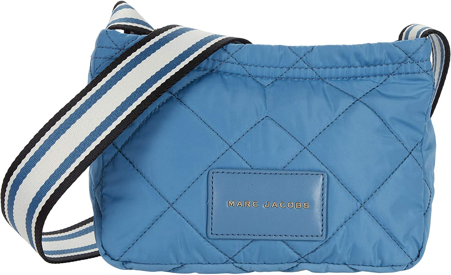 Marc Jacobs E-Quilted Nylon Messenger Blue Heaven One Size