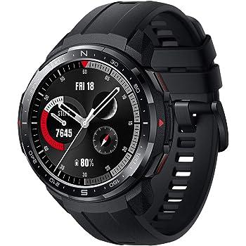 HONOR Watch GS Pro - Smartwatch Multideporte con de 25- Día Batería Duración, Certificado de Estándar Militar, GPS, 48mm, 1,39 Pulgadas AMOLED, IP68, Frecuencia Cardíaca, Negro
