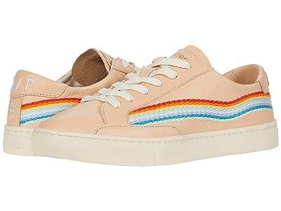 Soludos Rainbow Wave Sneaker (Soft Pink) Women